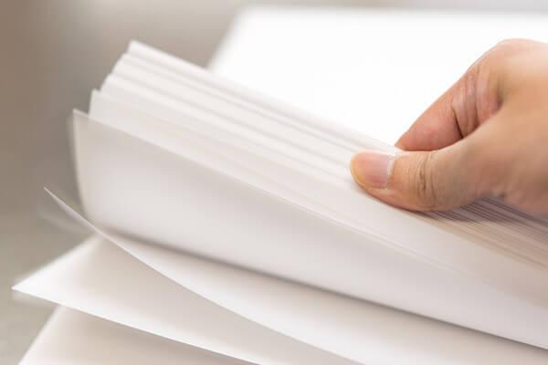 意外と大切な紙のサイズや紙質・厚さ