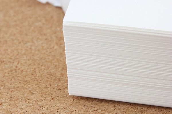 紙の厚さについて